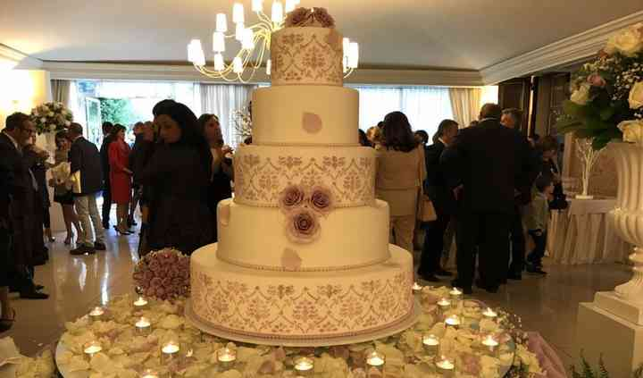 Tavolo torta e wedding cake