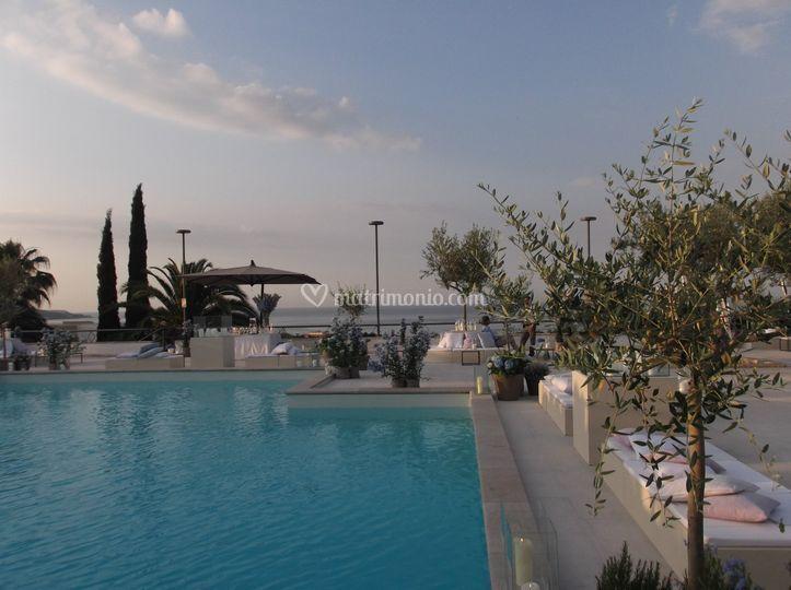 Terrazzo piscina