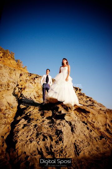 Trash the dress al mare
