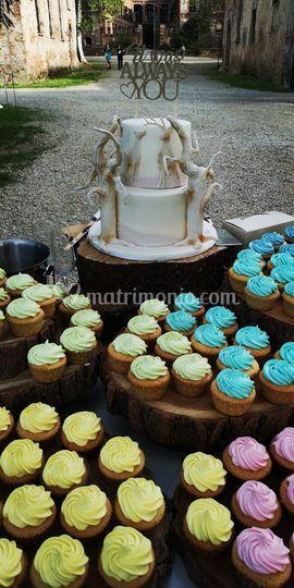 140 cupcake Harry Potter theme