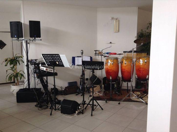 D&D con percussionista