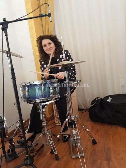 Veronica voce e percussioni