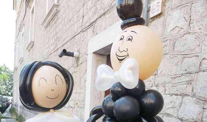 Sculture palloncini