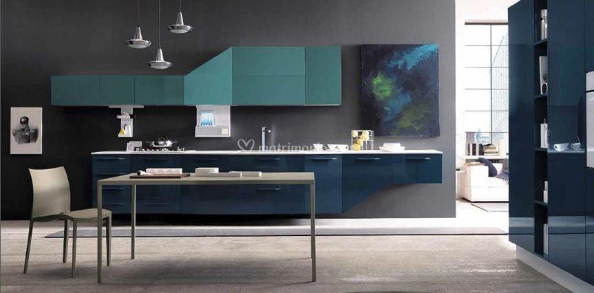 Cucina sospesa di design