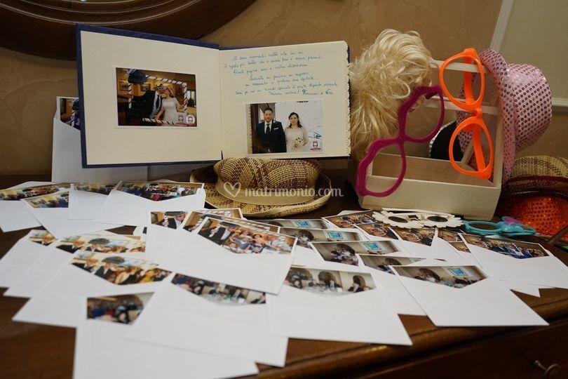 Guestbook con foto stampate