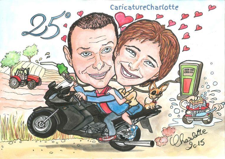 04720d979942 Caricature Charlotte - Caricaturista per Eventi