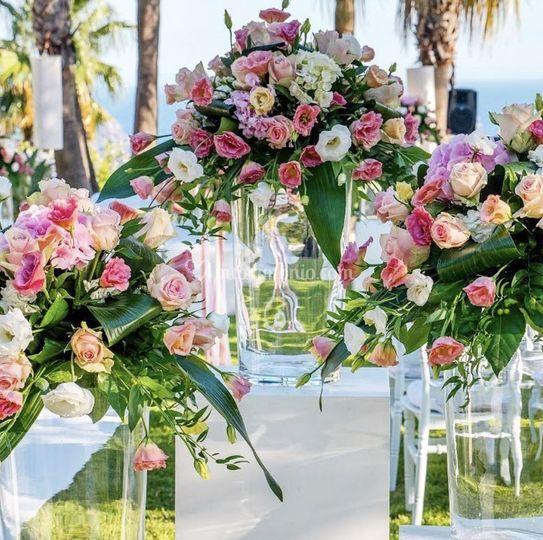 Matrimonio in rosa...
