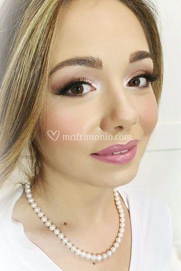 Make-up sposa per Valeria