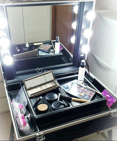 Postazione make-up