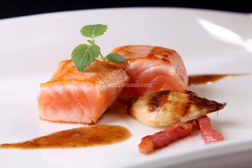 Scottata di salmone