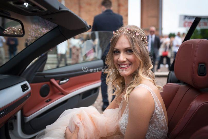 Trucco sposa floreale 2019