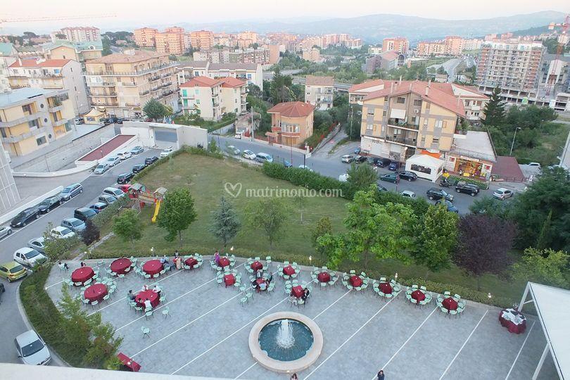 Panoramica Piazza Canova