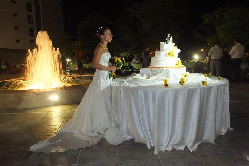 Matrimonio serale Piazza Canova
