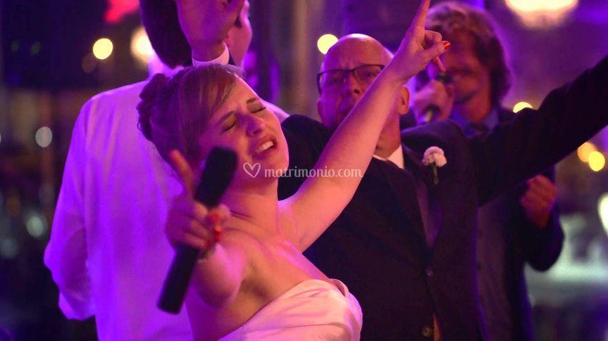 Karaoke con la sposa