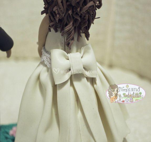 Retro abito sposa