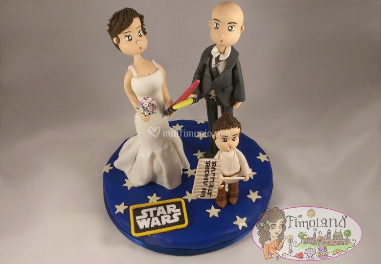 Topper Star Wars Matrimonio