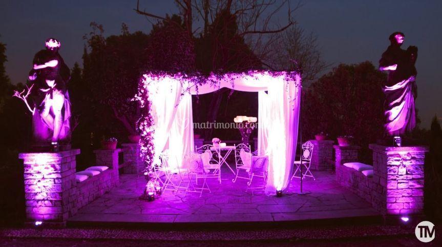 Light Design at Villa Paradeisos