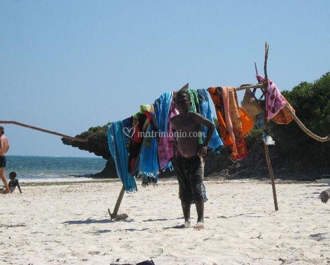 Kenya Vita in spiaggia
