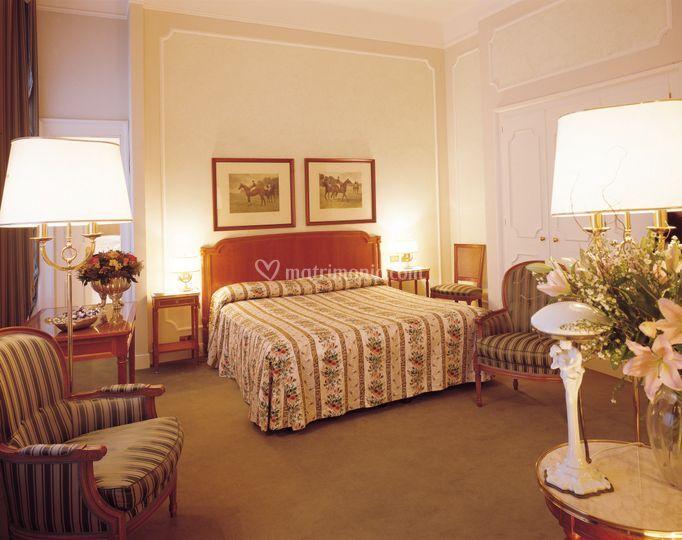 Palace grand hotel varese - Camera matrimoniale romantica ...