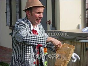 Filippo clown giocoliere