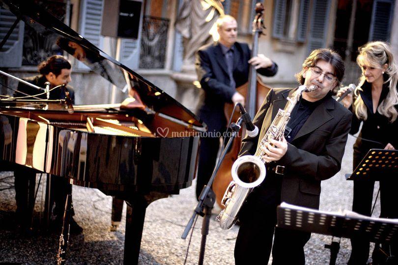 Jazz & swing quartet