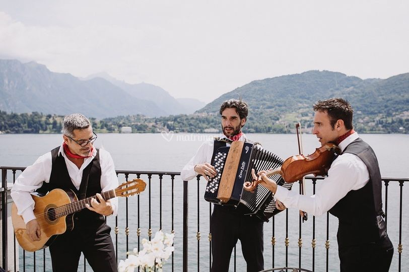 Played in Italy trio