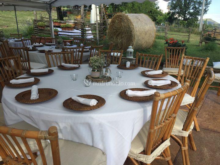 Matrimonio Country Chic Avellino : Country chic events