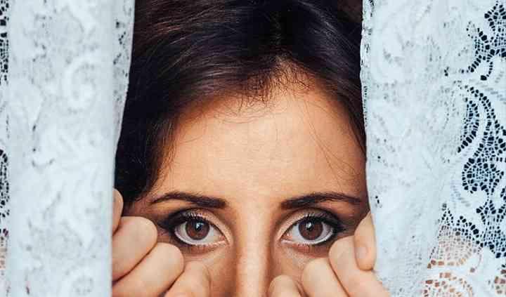 Dettaglio make-up M.Antonietta
