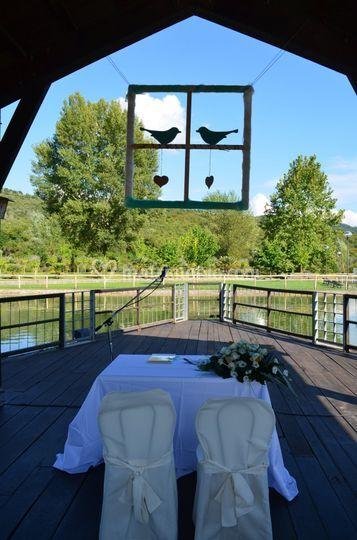 Matrimonio in oasi natura