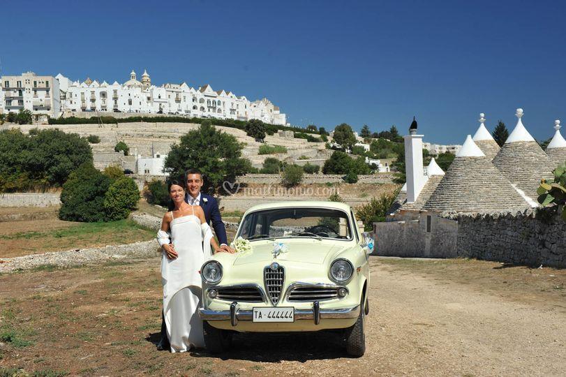L'auto per le nozze