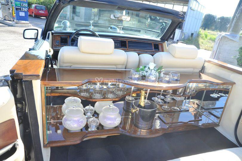 Interno limousine excalibur