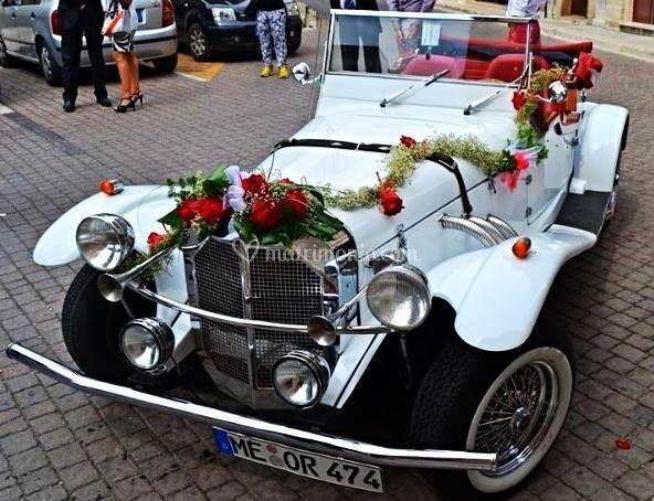 Mercedes gazelle cabrio 4 post