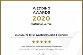 Maria Elena Ercoli Wedding Makeup & Hairstyle