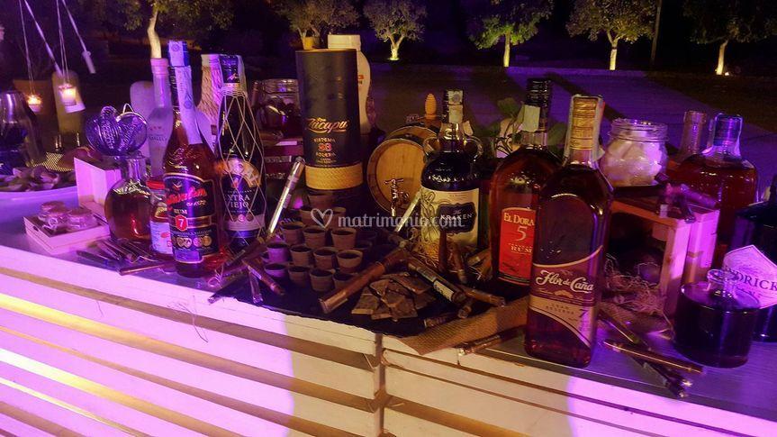 Rum & Sigari Service Basic