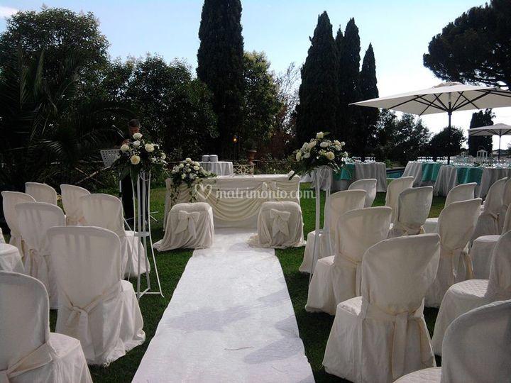 Cerimonia in villa