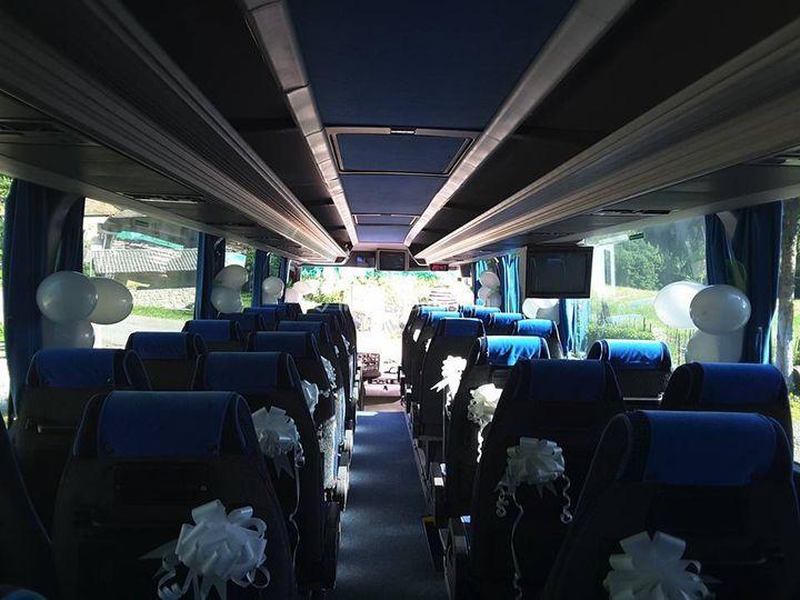 Bus 40 posti interno