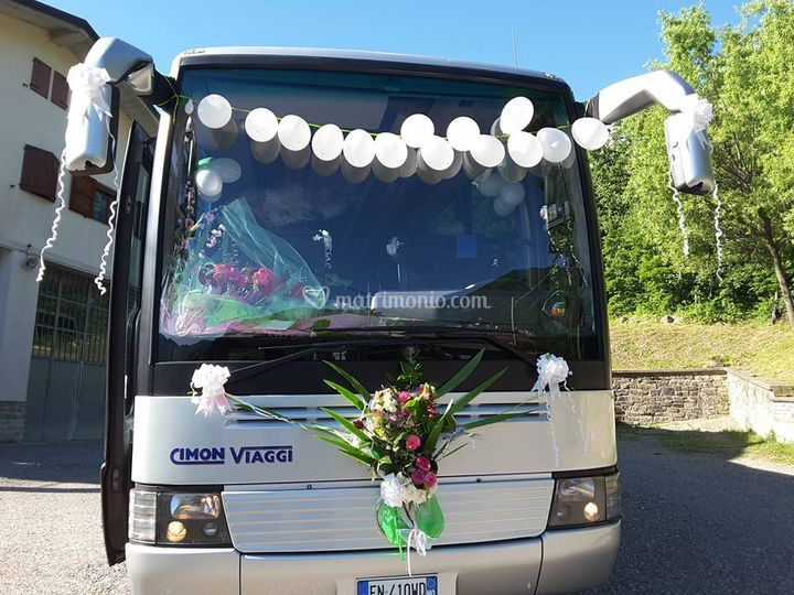 Bus 40 posti per matrimonio
