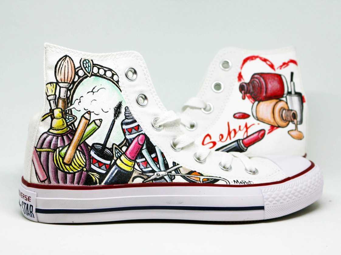 Converse Chic di Scarpe Personalizzate MaPet Shoe | Foto 29