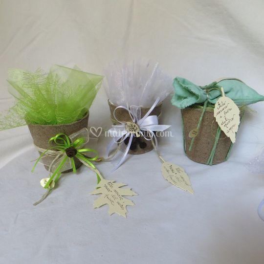 Bomboniera: vasi con semi