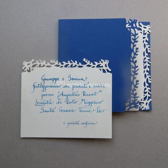 Partecipazione manoscritta