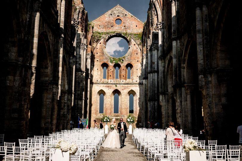 Abbazia di San Galgano, Siena