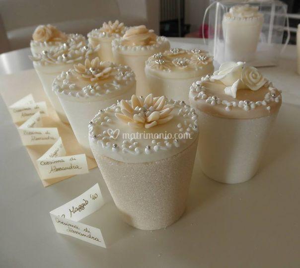 Vasetti di zucchero