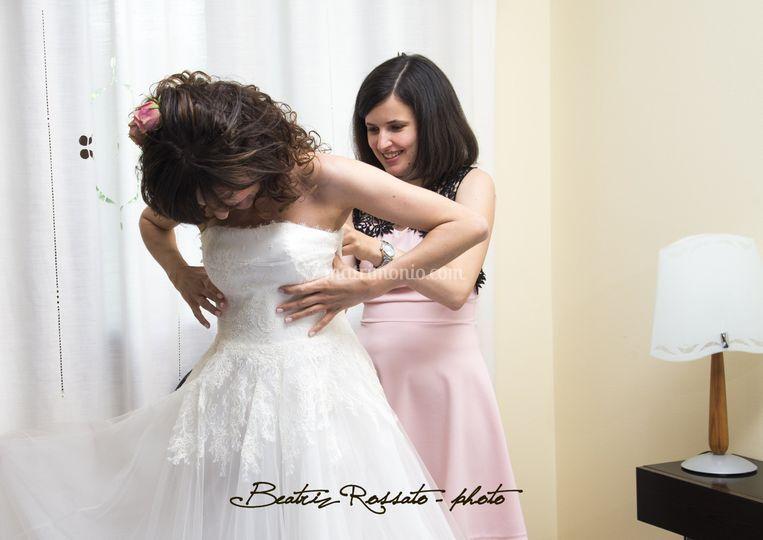 Noemi con la sposa