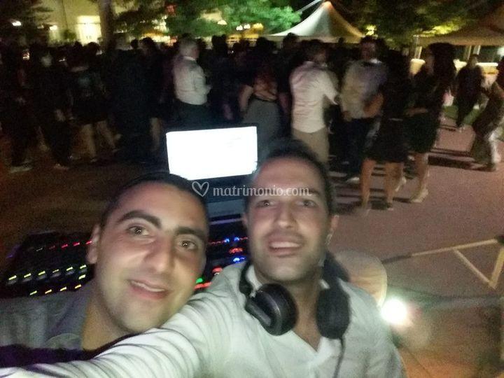 In pista con DJ