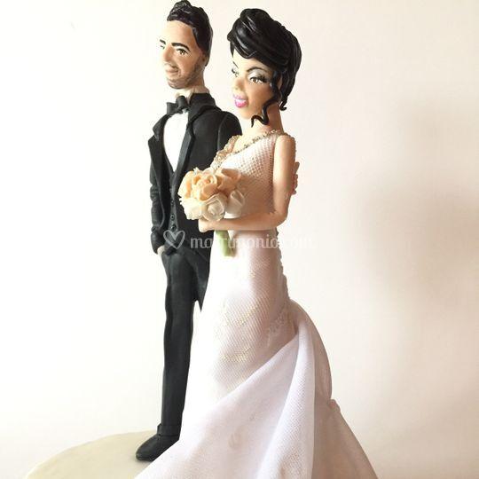 Cake topper Paolo e Giovanna