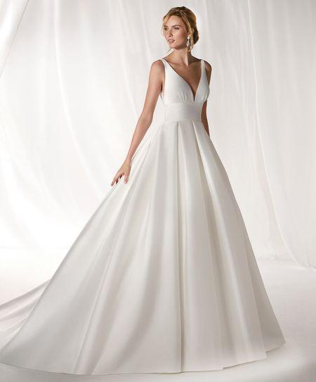 vivido e di grande stile scegli il meglio nuovi stili Abiti da sposa semplici: i 50 modelli più belli