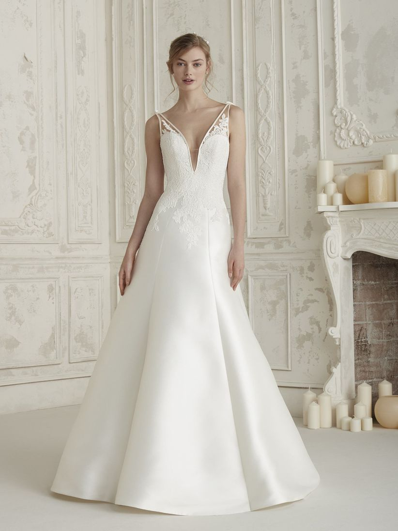9b121dbd6015 Di che stoffa sei  Gli 8 tessuti più gettonati per gli abiti da sposa