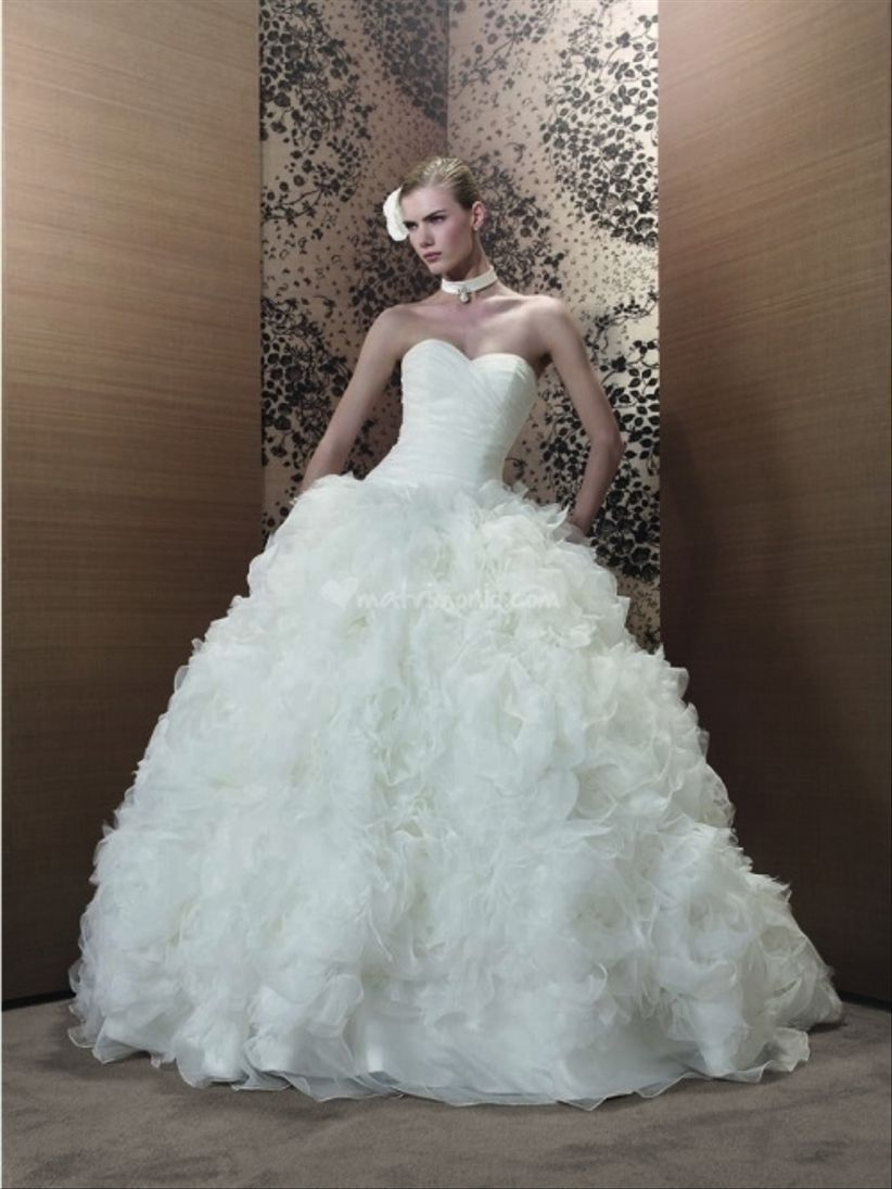 Souvent 23 abiti da sposa 2013 stile principessa PX03