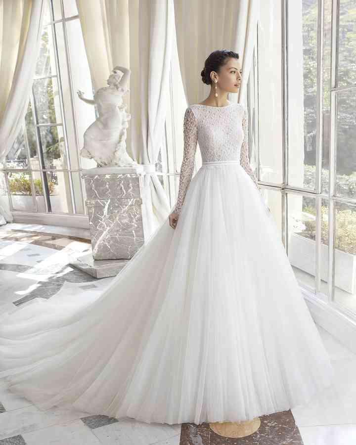 Abiti Da Sposa Maniche Lunghe.Like A Princess 15 Abiti Da Sposa Di Rosa Clara 2019 Da Non Perdere