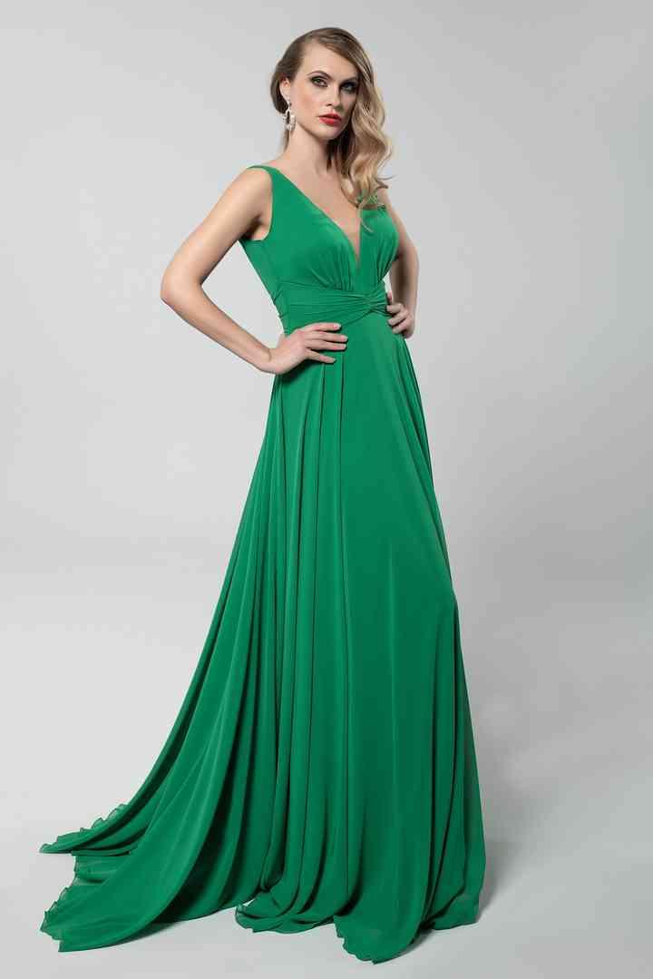 Vestiti Cerimonia Verde Smeraldo.30 Abiti Da Cerimonia Verdi Un Inedito Mix Di Freschezza E Charme